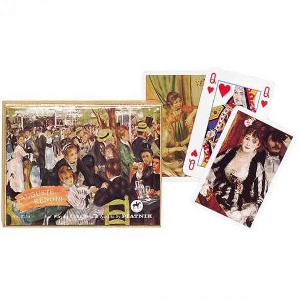 Renoir 2x55 lapos luxus römikártya - Piatnik