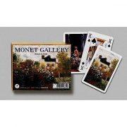 Monet galéria 2x55 lapos luxus römikártya - Piatnik
