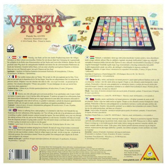 Venezia 2099 társasjáték - Piatnik