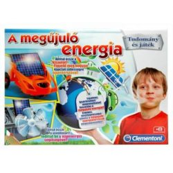 A megújuló energia tudományos játék Clementoni