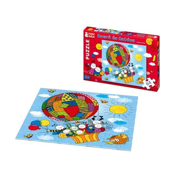 Bogyó és Babóca 64 darabos puzzle Léghajó