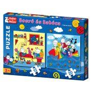 Bogyó és Babóca 12 és 20 darabos puzzle Szivárványhal