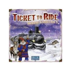 Ticket to Ride Nordic Countries társasjáték
