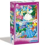 Puzzle 2x20 db-os - Hamupipőke - Clementoni (07001)