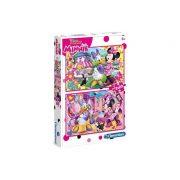 2 x 20 db-os puzzle - Minnie boldog - Clementoni 07029