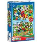 Puzzle 2x60 db-os - Mickey egér: Farm kaland - Clementoni (07106)