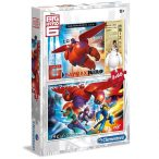 Puzzle 2x60 db-os puzzle - Hős6os - Clementoni (07120)