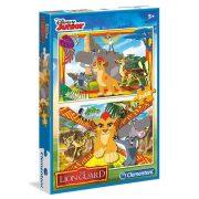 Puzzle 2x60 db-os - Az oroszlán őrség  - Clementoni (07126)