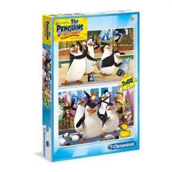 Puzzle 2x60 db-os - Madagaszkár pingvinjei - Clementoni (07129)