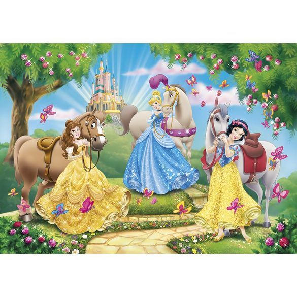 Puzzle 100 db-os - Disney Hercegnők - Clementoni (07222)