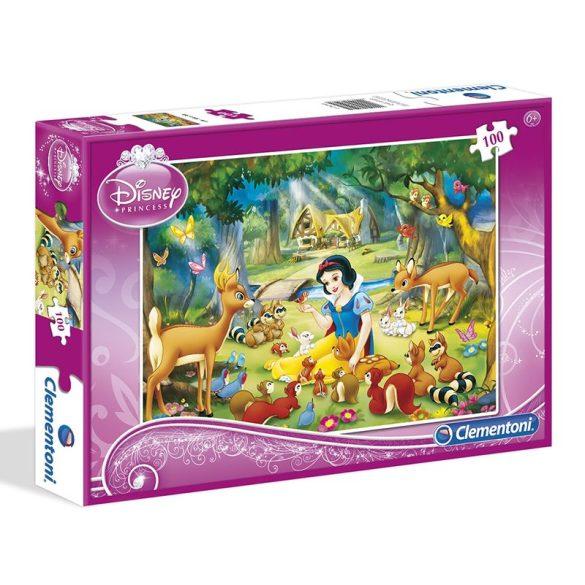 Puzzle 100 db-os - Hófehérke és barátai - Clementoni (07223)