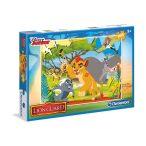 Puzzle 100 db-os - Az oroszlán őrség - Clementoni (07251)