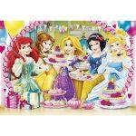Puzzle 180 db-os - Disney Hercegnők szülinap - Clementoni (07317)