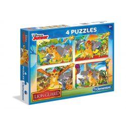 Puzzle 2x20 és 2x60 db-os - Az oroszlán őrség- Clementoni (07608)