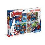Puzzle 104 db-os - Frozen Supercolor - Clementoni (27956)