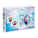 Puzzle 60 db-os és memóriajáték - Jégvarázs - Clementoni (07916)