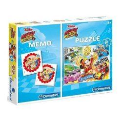 60 db-os puzzle és memóriajáték - Mickey egér - Clementoni (07917)