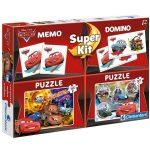 Puzzle 2x30 db, memória- és dominójáték - Verdák - Clementoni (08201)