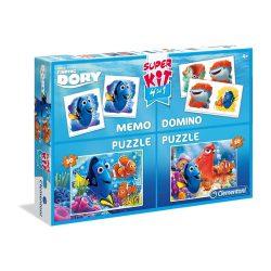 Puzzle 2x30 db, memória- és dominójáték - Szenilla nyomában - Clementoni (08213)