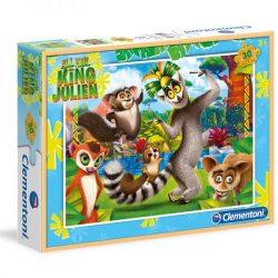 Puzzle 30 db-os - Julien király - Clementoni (08510)