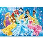 Puzzle 104 db-os - Disney Hercegnők ragyogó puzzle - Clementoni (20128)