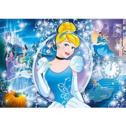 Puzzle 104 db-os - Disney Hercegnők: Hamupipőke ragyogó puzzle - Clementoni (20132)