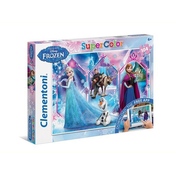 Puzzle 104 db-os Interaktív puzzle AR technológiával - Disney: Jégvarázs - Clementoni (20703)