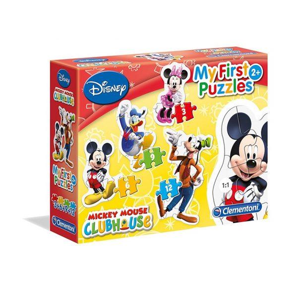 My First Puzzle 4 az 1-ben - Mickey egér és barátai - Clementoni (20803)