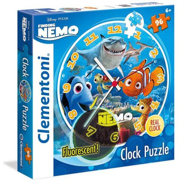 Puzzle 96 db-os - Némó nyomában óra puzzle - Clementoni (23022)