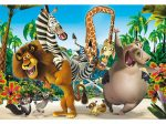 Madagaszkár 24 db-os Super Color maxi puzzle - Clementoni (24043)