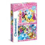 2x20 db-os puzzle - Hercegnők - Clementoni 24751