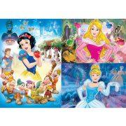 Puzzle 3x48 db-os - Disney Hercegnők - Clementoni (25211)