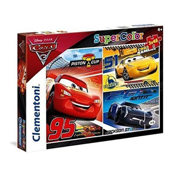 3x48 db-os puzzle - Verdák 3 - Clementoni 25221