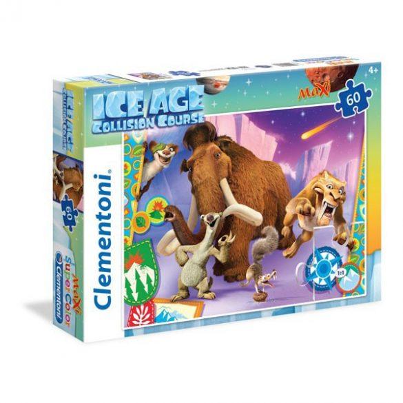 Puzzle 60 db-os - Jégkorszak 5. - A nagy bumm Super Color Maxi puzzle - Clementoni (26583)