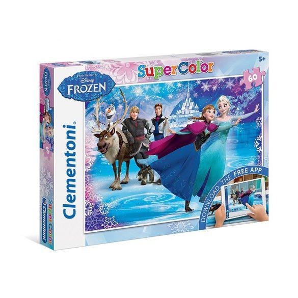 Puzzle 60 db-os Interaktív puzzle AR technológiával - Disney: Jégvarázs - Clementoni (26936)