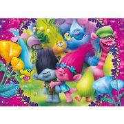 Puzzle 60 db-os - Trollok Super Color puzzle - Clementoni (26958)