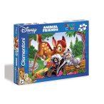 Puzzle 104 db-os - Bambi Super Color puzzle - Clementoni (27454)