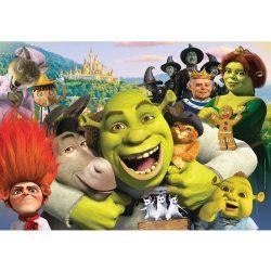 Puzzle 104 db-os - Shrek és barátai - Clementoni (27943)