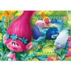 Puzzle 104 db-os - Trollok Super Color puzzle - Clementoni (27961)