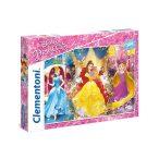 104 db-os puzzle - Disney hercegbők - Clementoni 27983