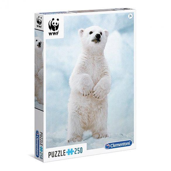 Puzzle 250 db-os - WWF Jegesmaci - Clementoni (29744)