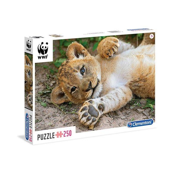 Puzzle 250 db-os - WWF Oroszlánkölyök - Clementoni (29745)