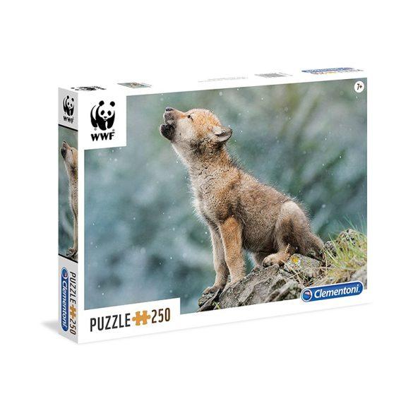 Puzzle 250 db-os - WWF Farkaskölyök - Clementoni (29746)