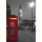 Puzzle 500 db-os - London telefonfülke - Clementoni (30263)
