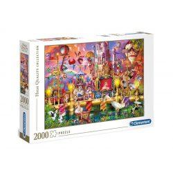 Puzzle 2000 db-os - Cirkusz - Clementoni 32562