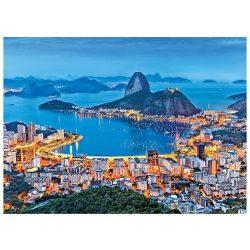 Puzzle 1000 db-os - Rio de Janeiro - Clementoni