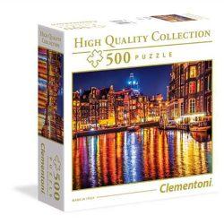 Clementoni 500 db-os puzzle négyzet alakú dobozban - Amszterdam 96157