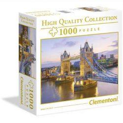 Clementoni 1000 db-os puzzle négyzet alakú dobozban - Tower-Bridge 96504