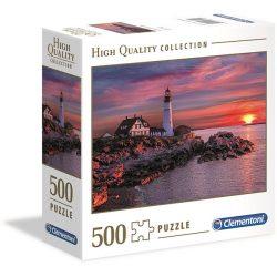 Clementoni 500 db-os puzzle négyzet alakú dobozban - Naplemente, Portland 96702