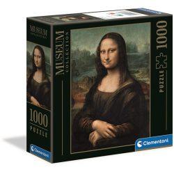 Clementoni 1000 db-os Múzeum Kollekció puzzle négyzet alakú dobozban - Da Vinci - Mona Lisa 98308